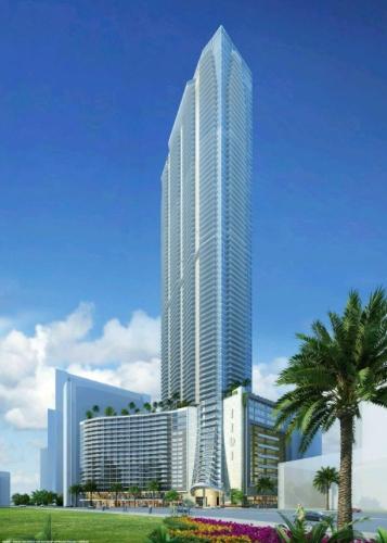 New Construction Miami Panorama